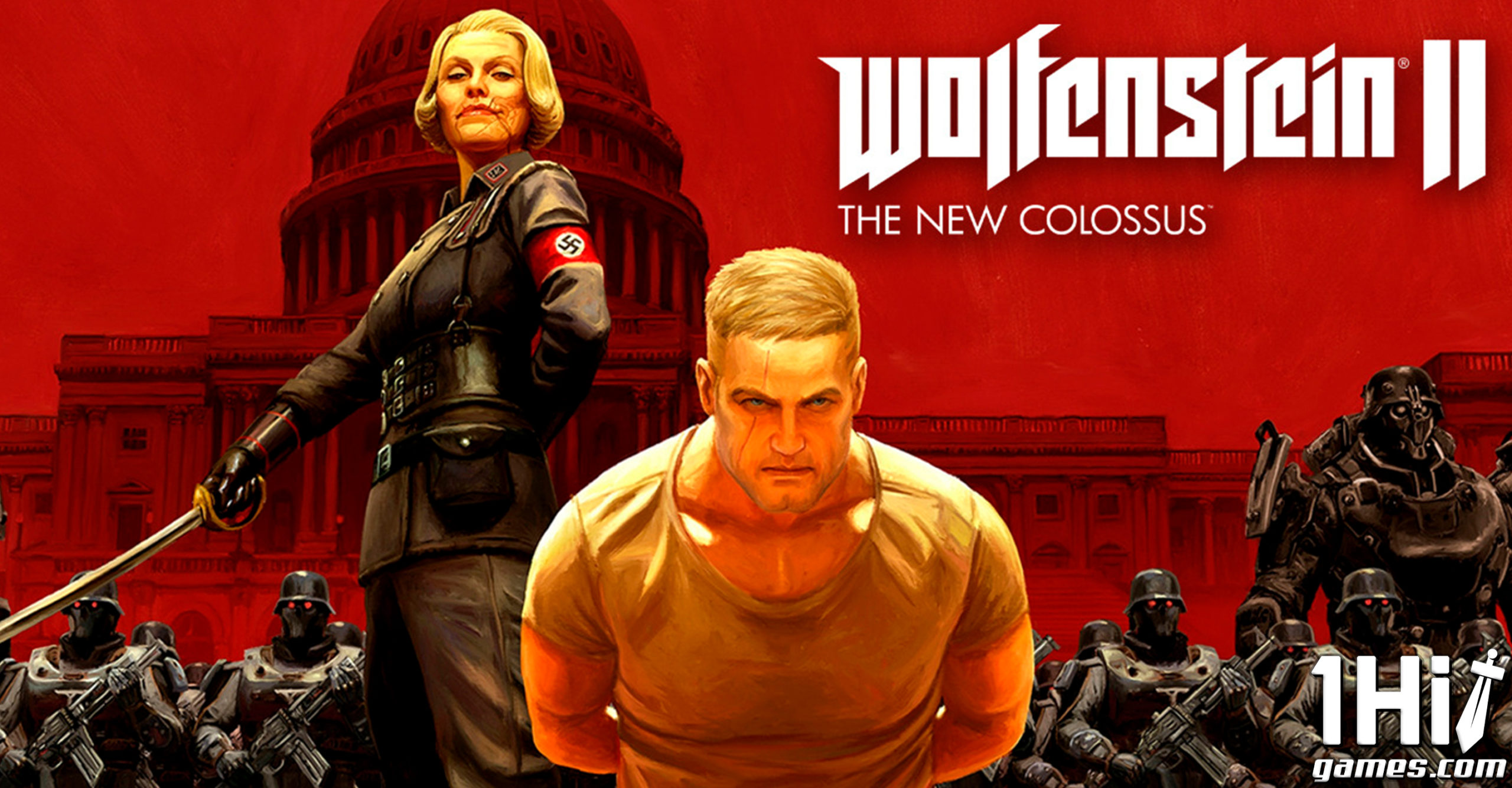 Wolfenstein Ii The New Colossus 1hitgames