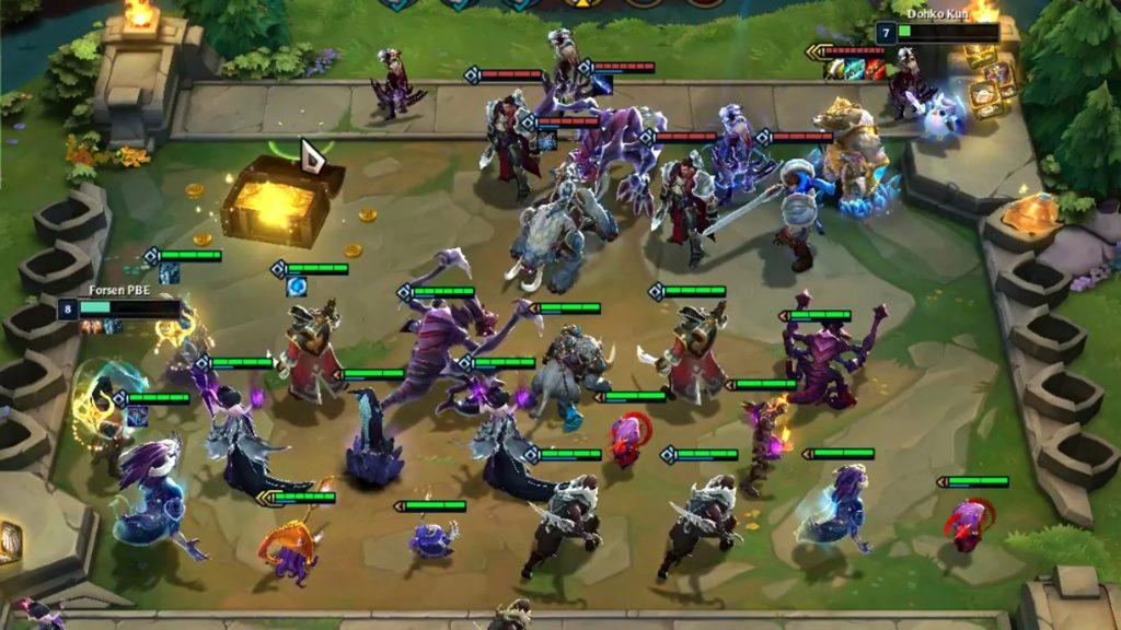TFT 1hitgames estrategia Teamfight Tactics Champion