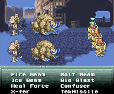 Final Fantasy III Das Antigas Super Nintendo