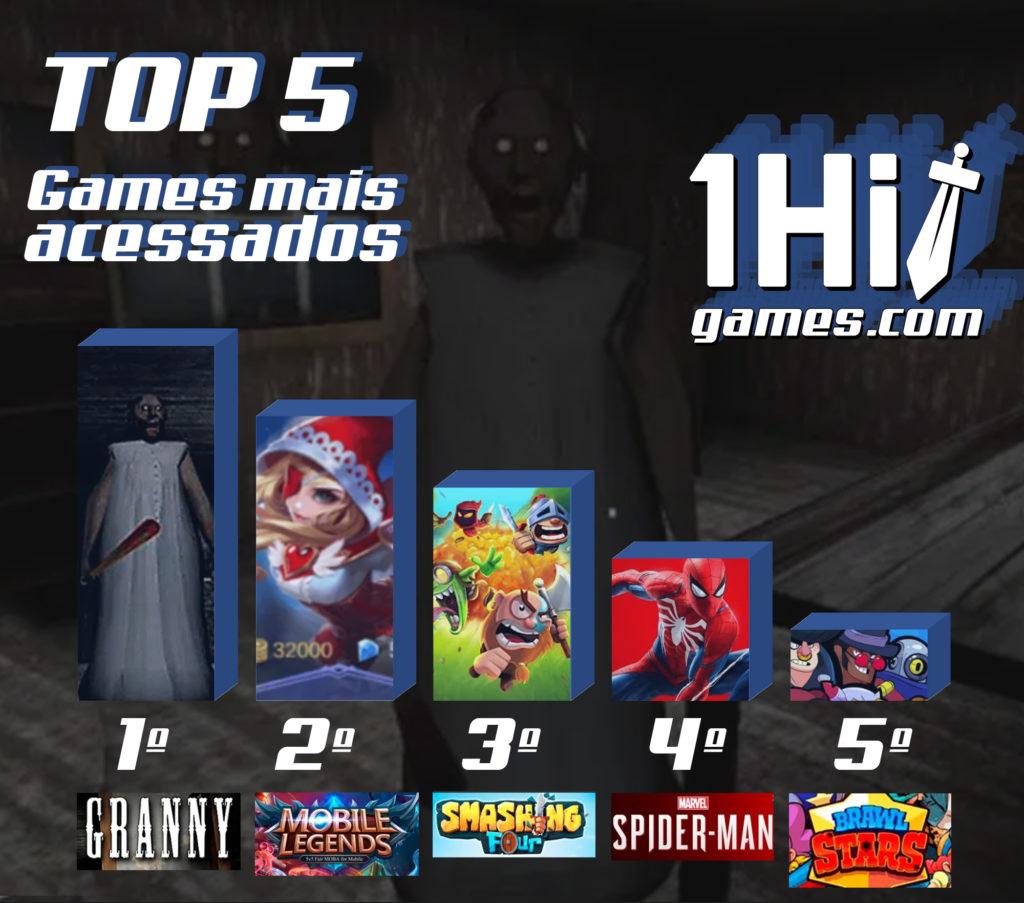 📷 TOP 5 - Games mais acessados | 1HitGames.com