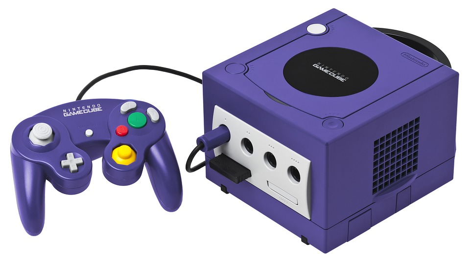 GameCube video-game-console