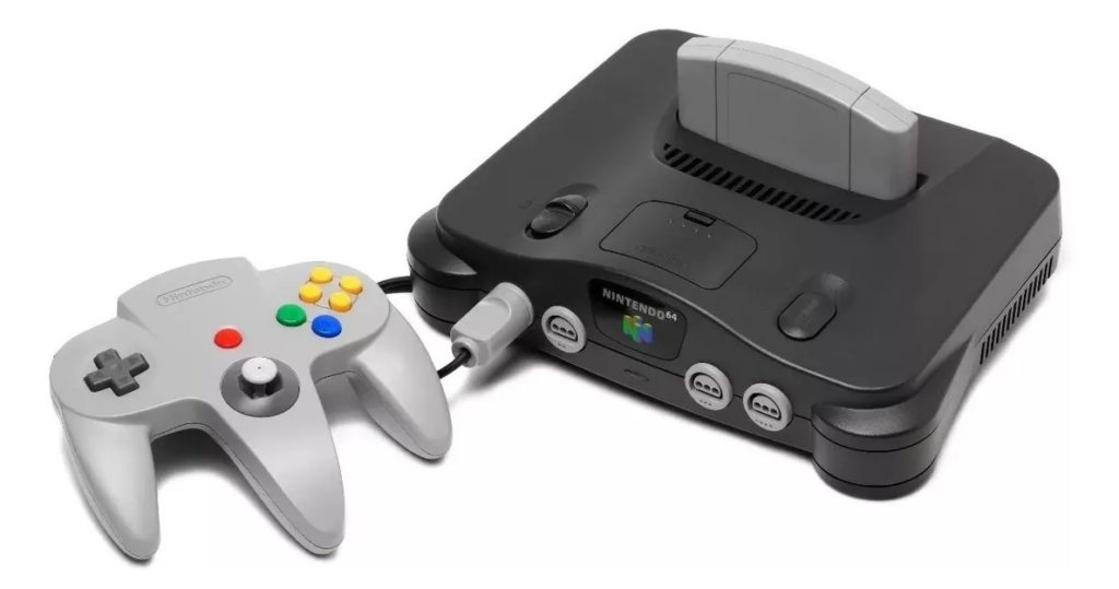 Nintendo 64 video-game-console