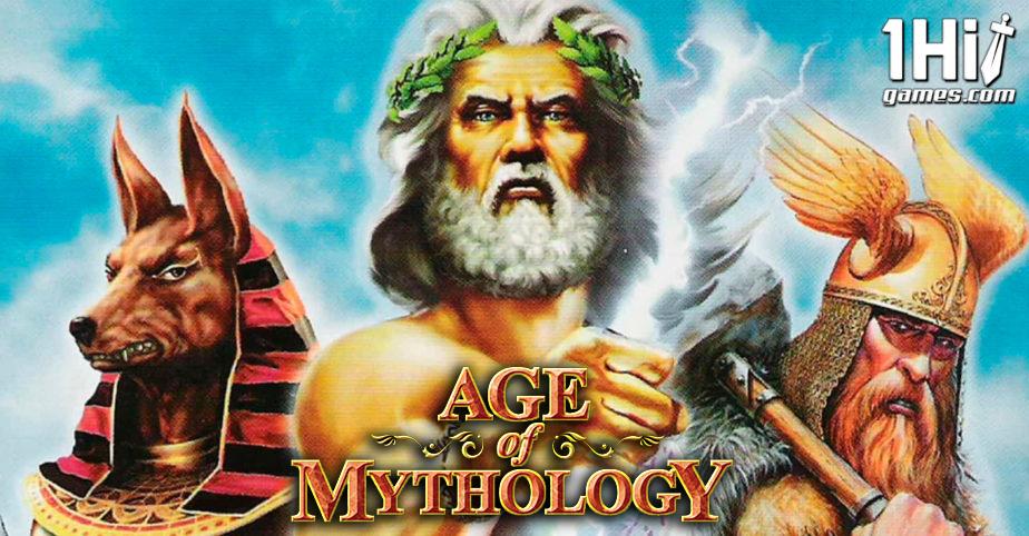 Age of Mythology Estratégia Offline PC 1hitgames capa site