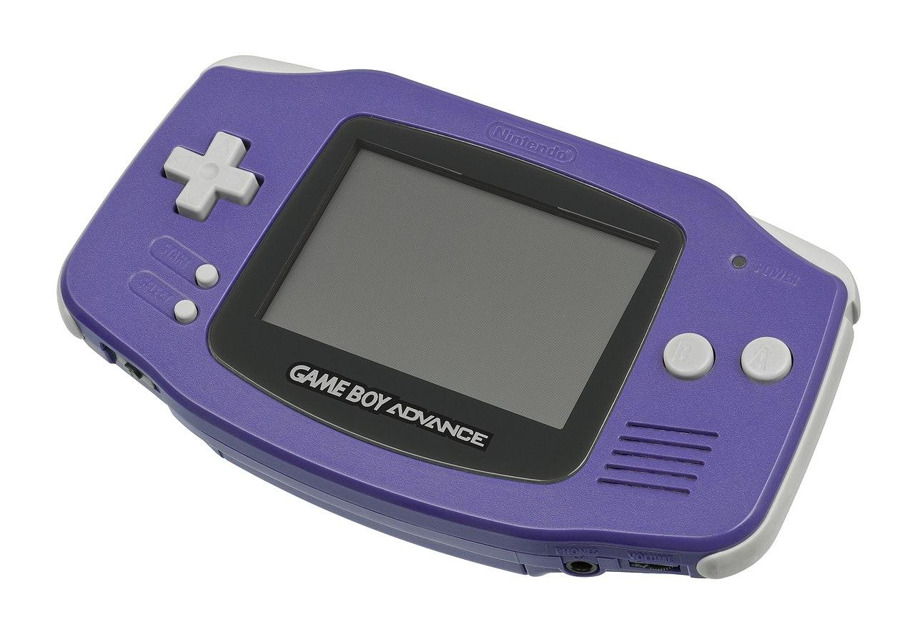 Nintendo Game Boy Advance Purple 1hitgames