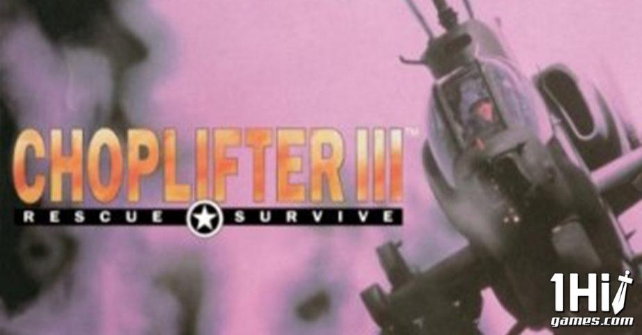 Choplifter III: Rescue Survive
