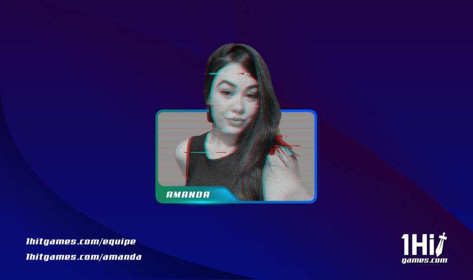 Amanda criadora de conteúdo 1HitGames autora cdc