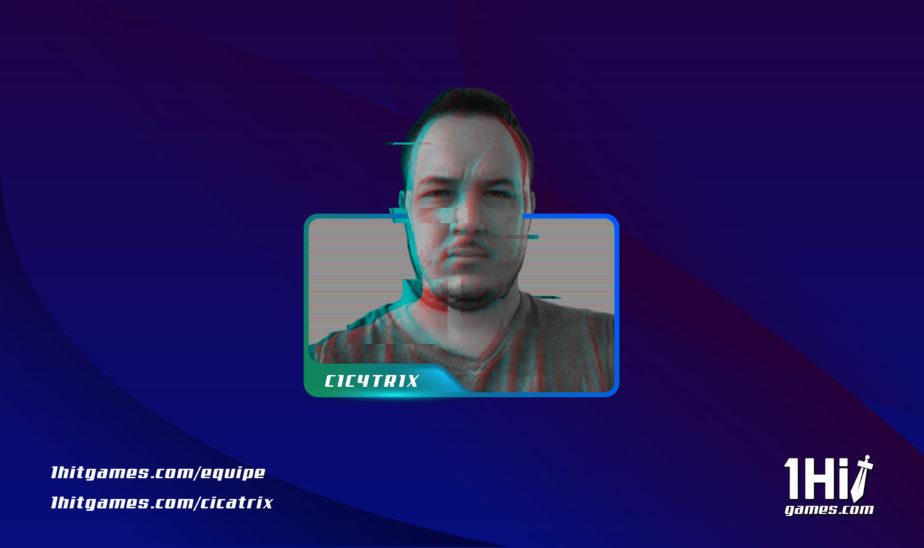 Cixatrix criador de conteúdo 1HitGames autor cdc lider boss
