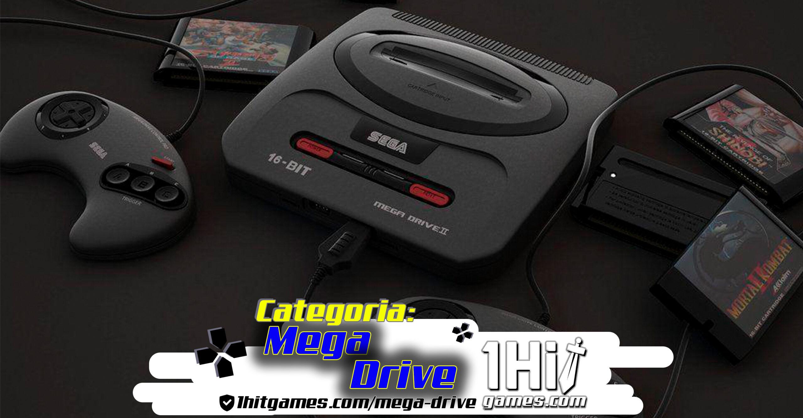 mega drive 1hitgames gaming gamer 1hit categorias nostalgia