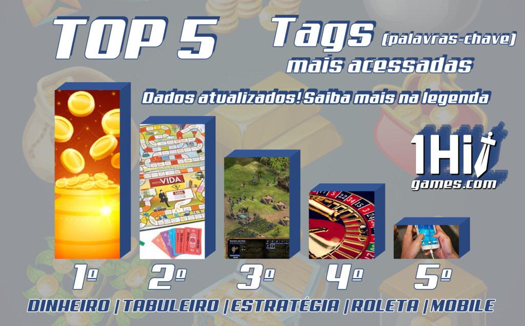 top5 tags site palavras-chave dinheiro estratégia mobile roleta tabuleiro ranking 1hit games