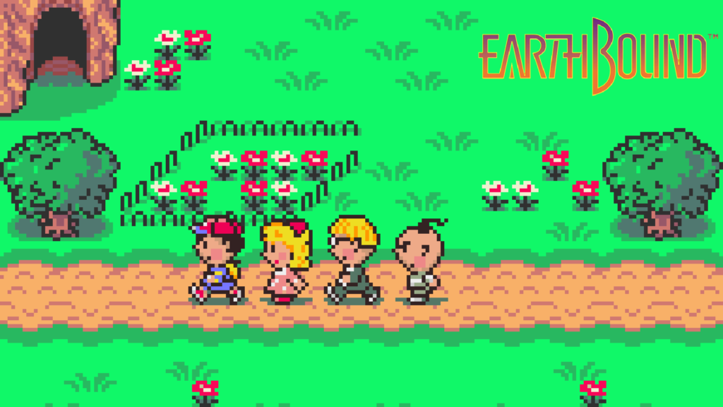 201008 EarthBound 1hit games