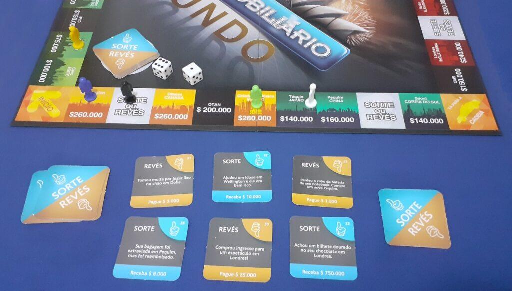 Banco Imobiliário Mundo Sorte ou Revés