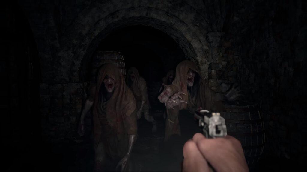 Criaturas sobrenaturais resident evil village capcom ps5 ps4 xbox one xbox series horror survival 1hit games
