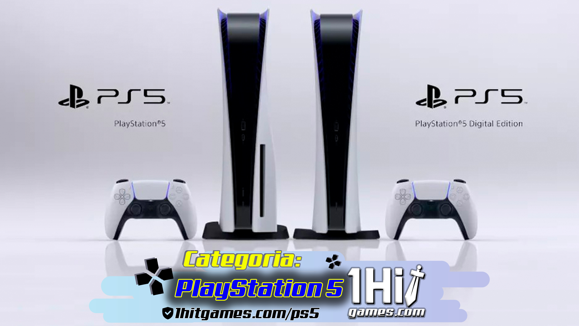 playstation5 games 1hitgames jogos eletronicos categorias 1hit sony console novidade tecnologia digital