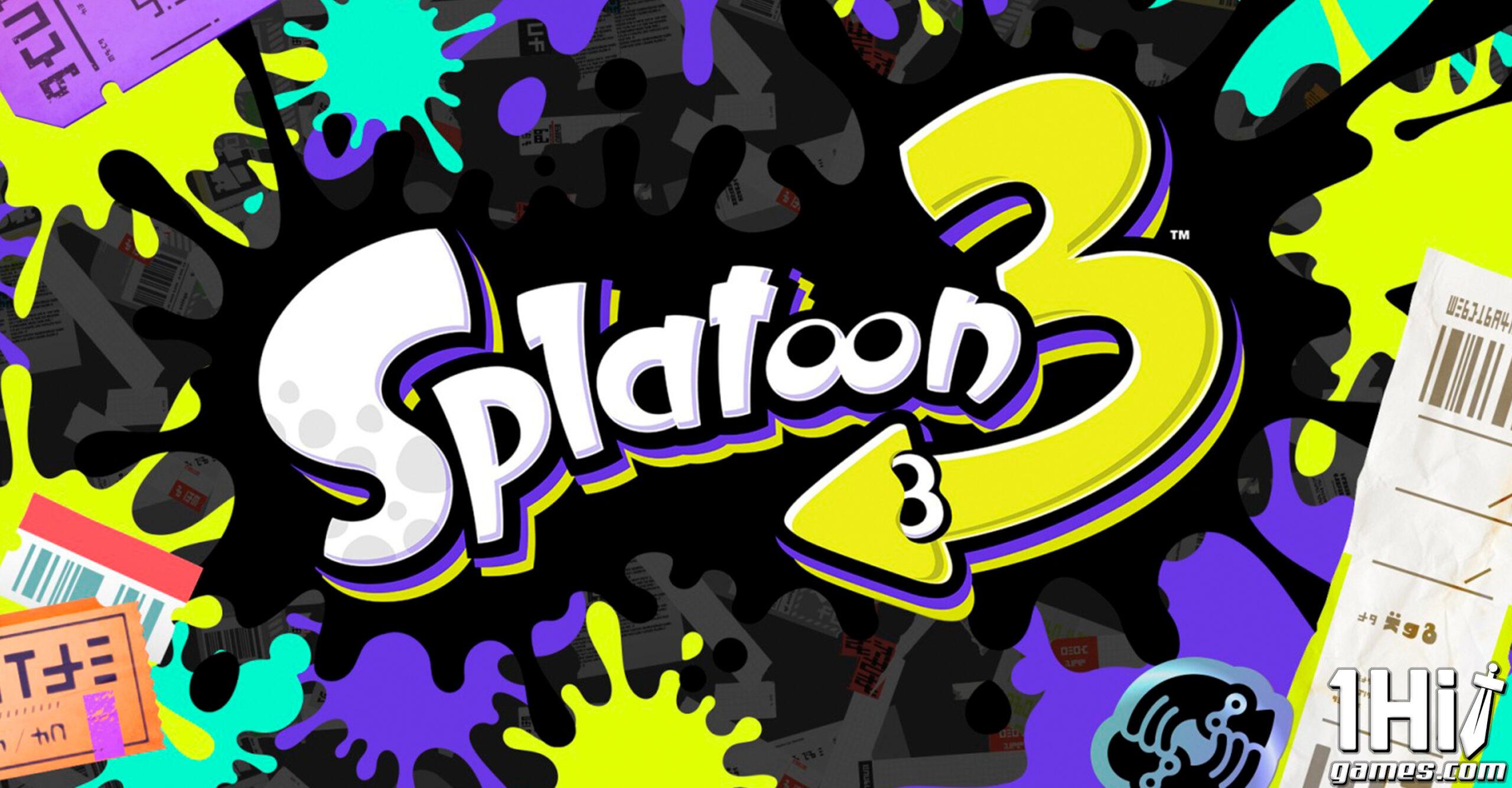 Splatoon 3 chegará em 2022