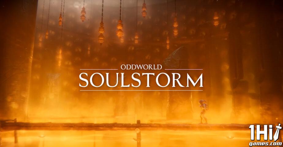Oddworld Soulstorm: chega em abril e diretamente lançado na PS Plus de PS5