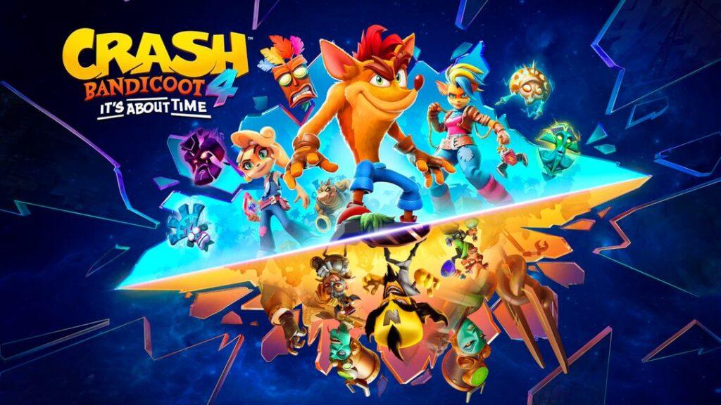 crash bandicoot 4 ps4 xbox one ps5 xbox series 1hit games