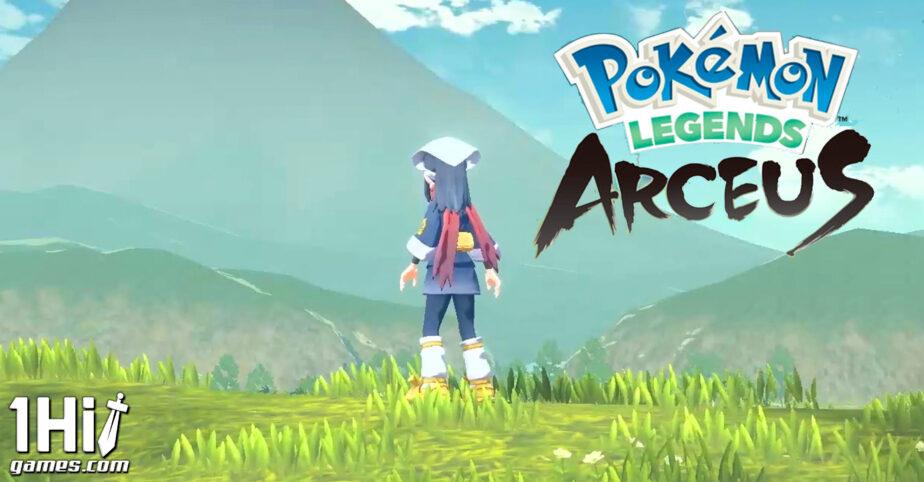 Pokémon Legends: Arceus, trailer, data de lançamento e mais