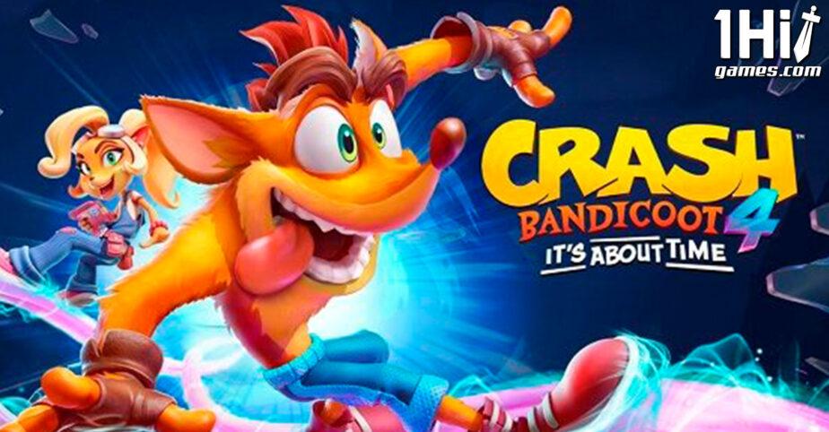 Crash Bandicoot 4 chega no PS5, Xbox Series e Switch em março