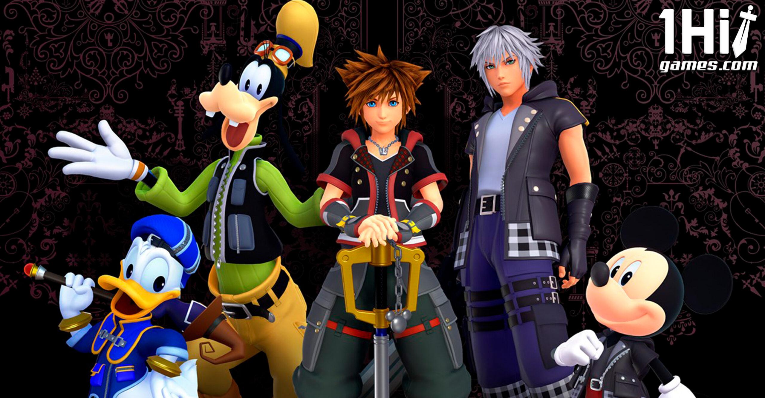 Franquia Kingdom Hearts chegará ao PC em breve