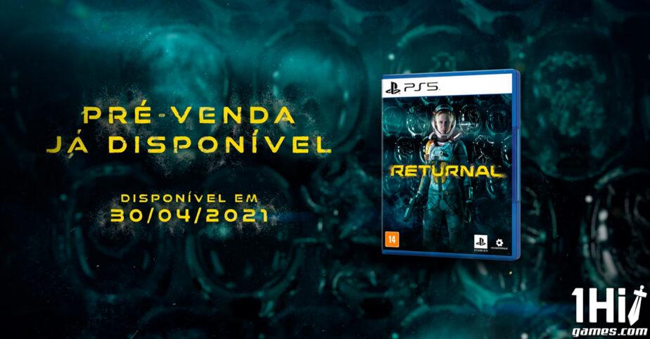 Já na fase Gold, Returnal está pronto para lançamento