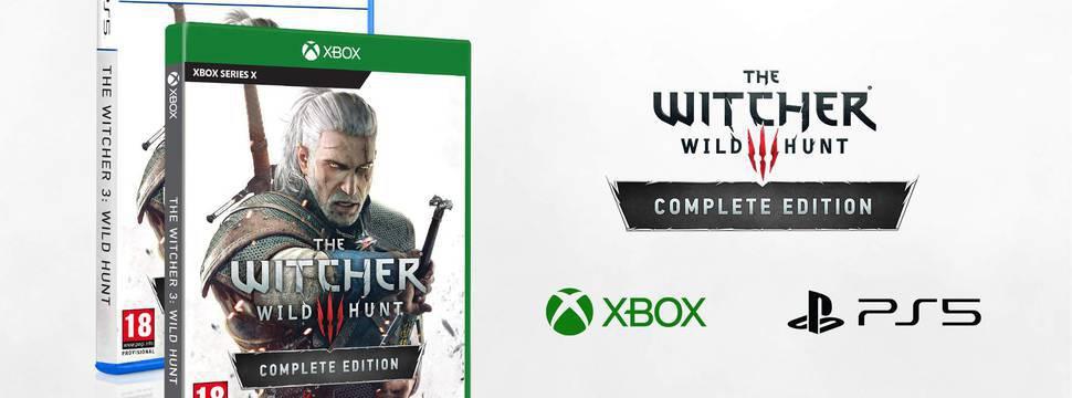 The Witcher 3 para PS5 e Xbox Series chega no segundo semestre de 2021