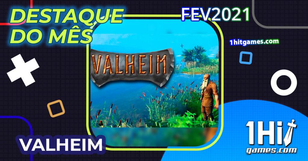 Destaque do mes valheim game pc hype viking 1hitgames