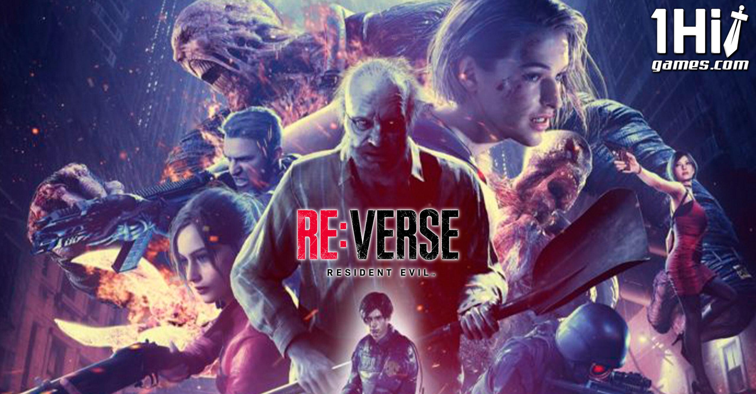 Resident Evil Re:Verse terá beta aberto em abril