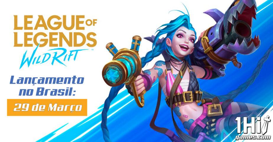 League of Legends: Wild Rift chega ao Brasil em março