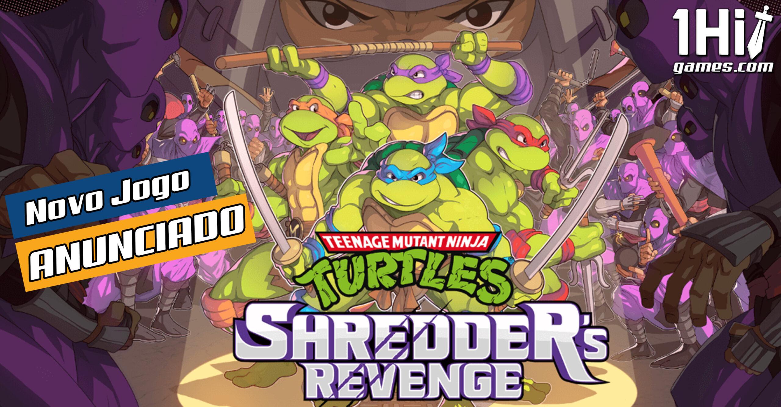 Novo jogo das Tartarugas Ninja é anunciado