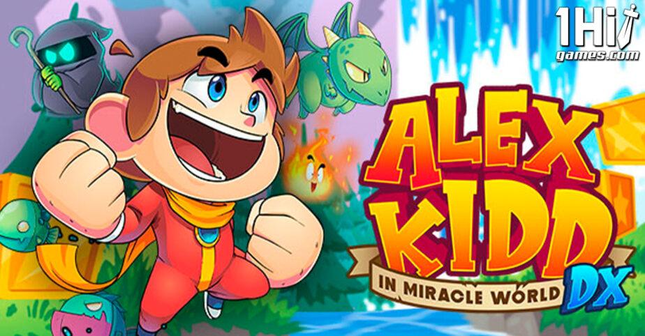 Alex Kidd in Miracle World DX chega em junho