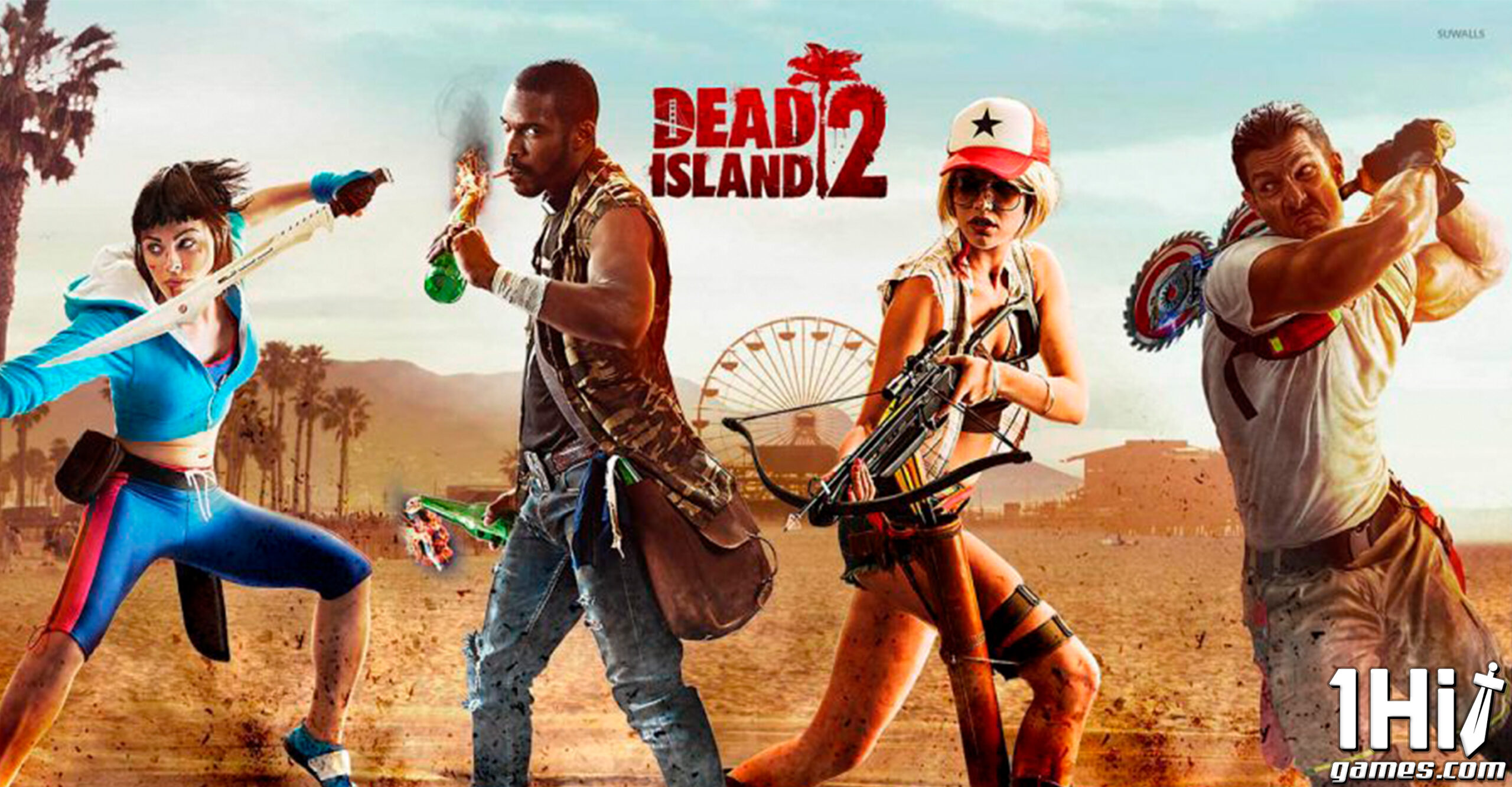 'Dead Island 2' será exclusivo da Epic Games Store
