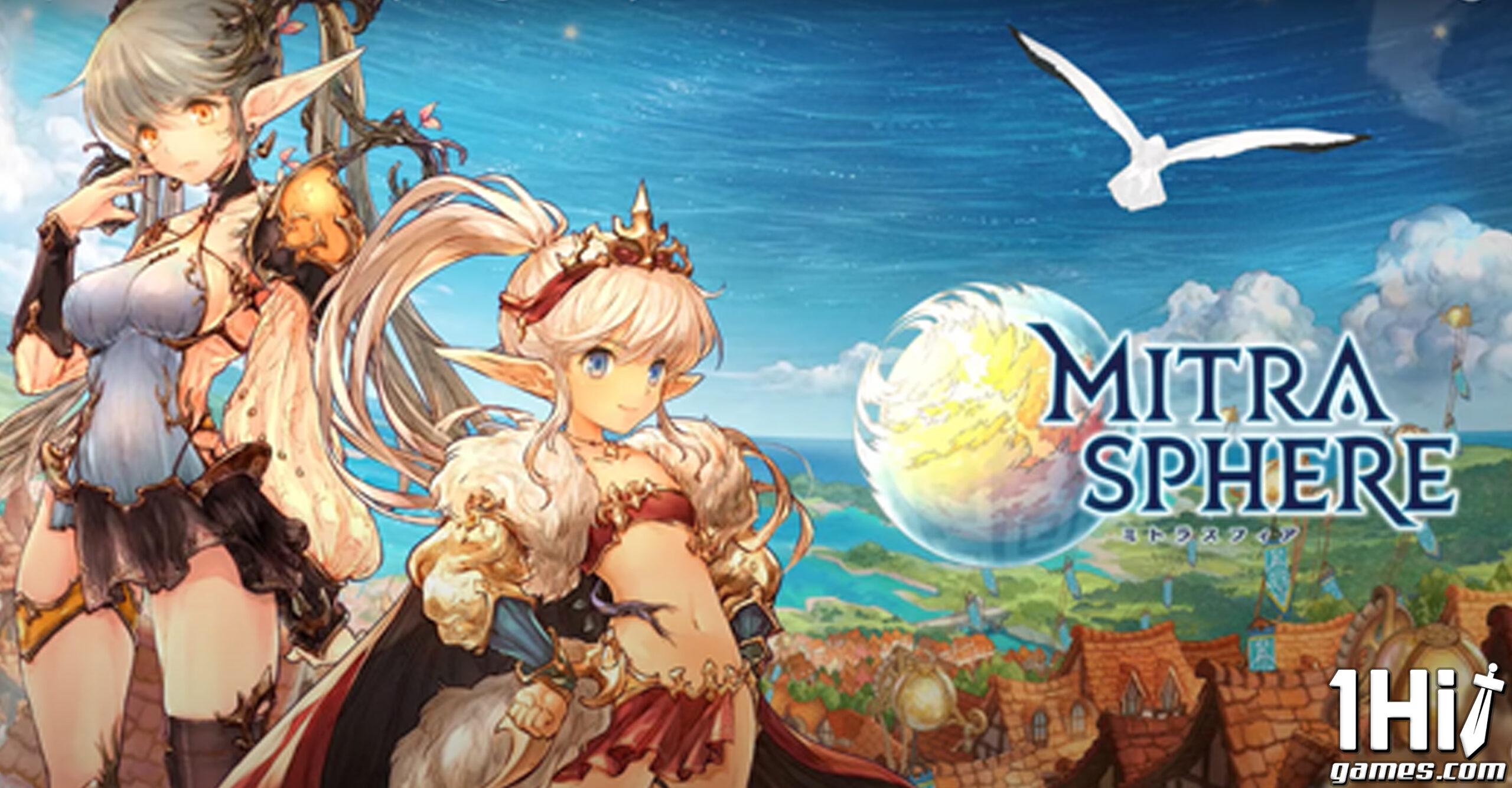 Pré-Registro de Mitrasphere anunciado por Crunchyroll Games