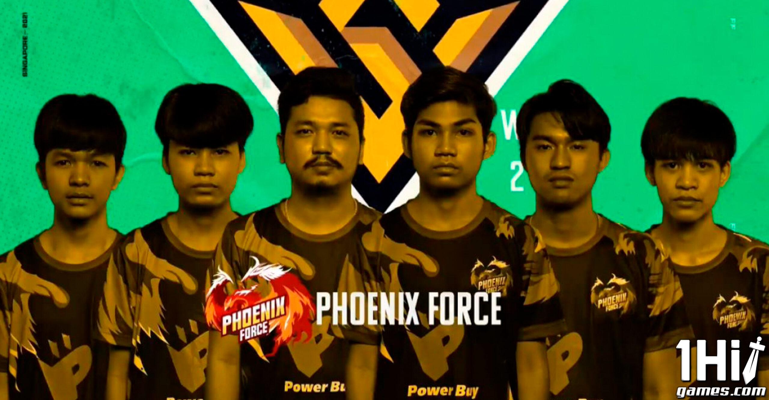 Mundial de Free Fire 2021: Phoenix Force é campeã
