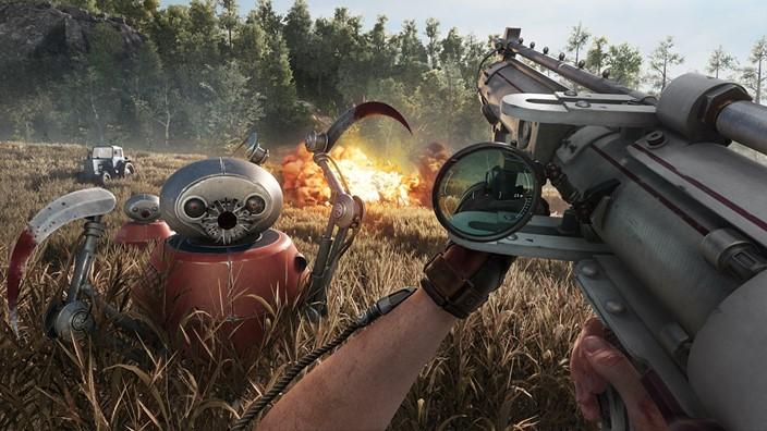 Atomic Heart FPS RPG 1Hit Games