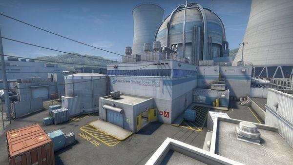Mapa Nuke CS: GO 1Hit Games