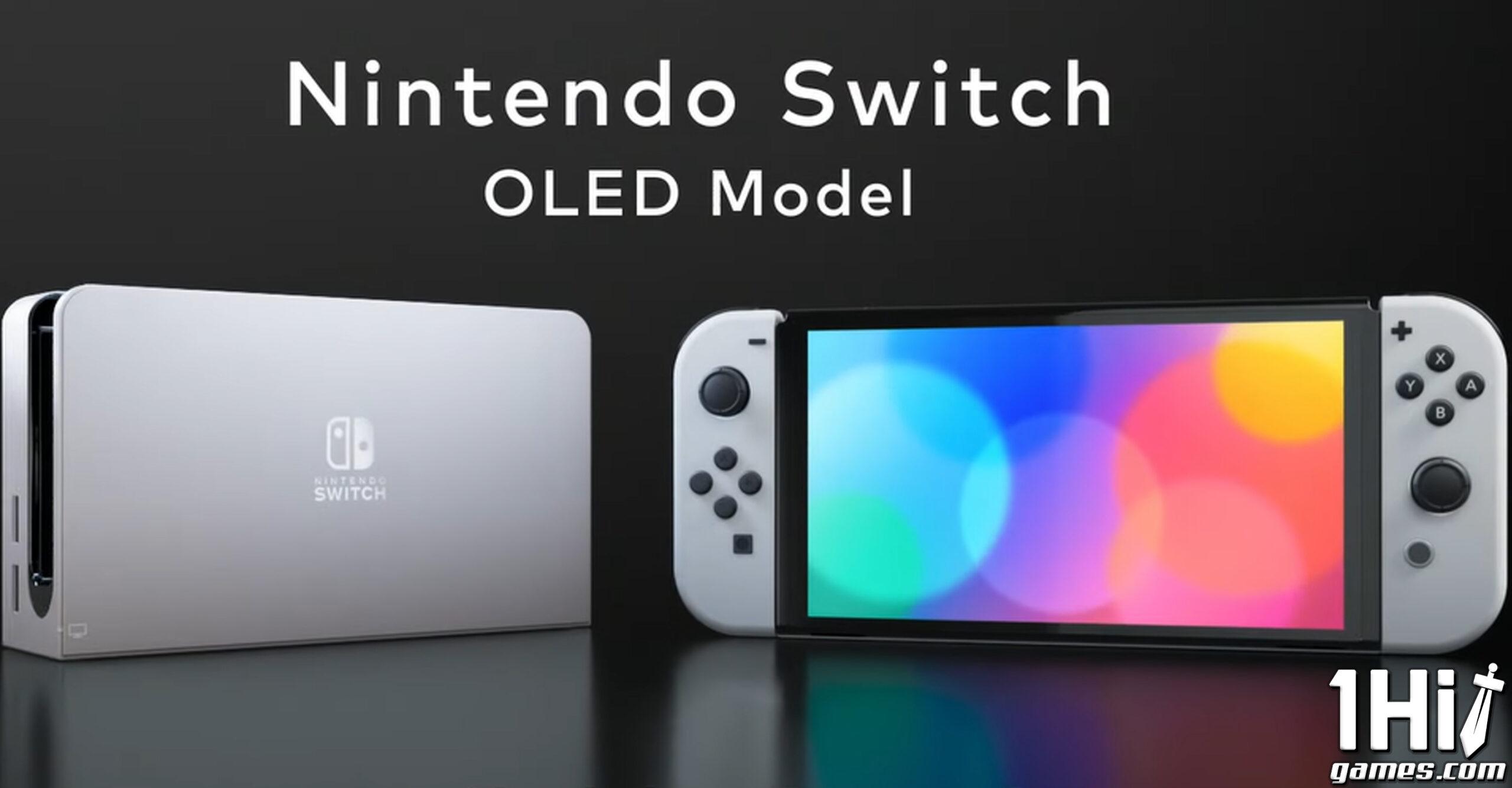 Nintendo Switch OLED ganha data de lançamento
