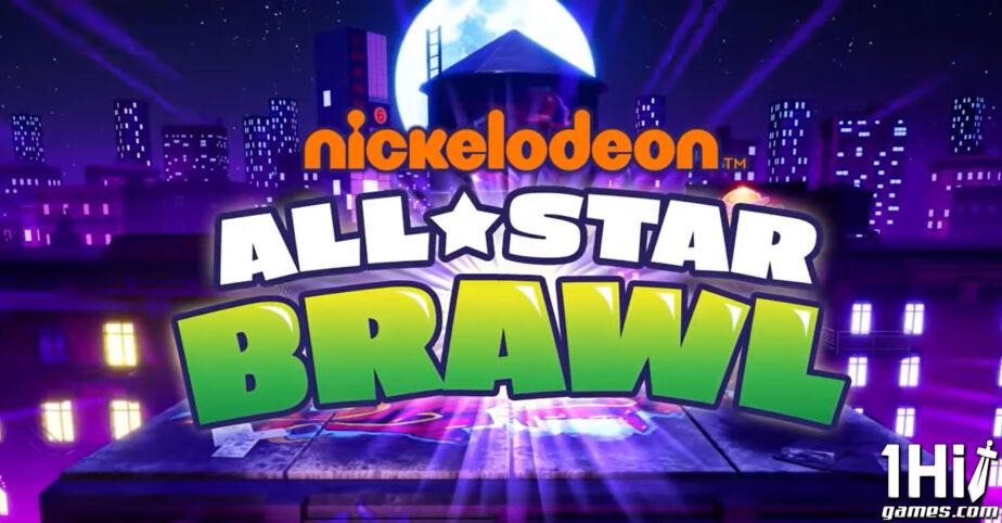 Nickelodeon All-Star Brawl é revelado com estilo Smash Bros