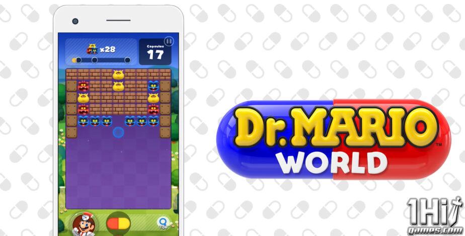 A Nintendo decidiu encerrar o Dr. Mario World