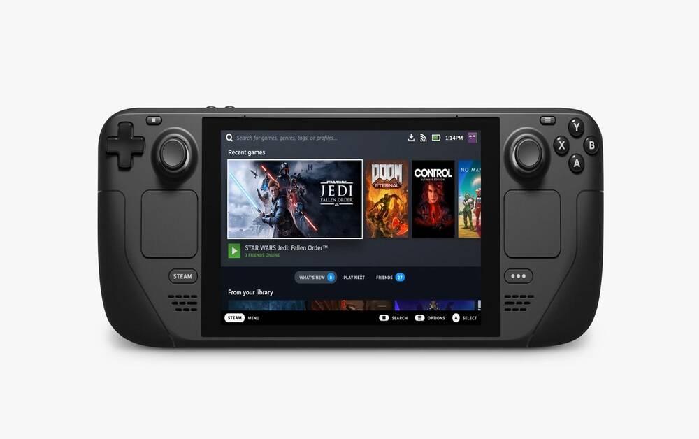 Steam Deck: portátil da Valve chega em dezembro
