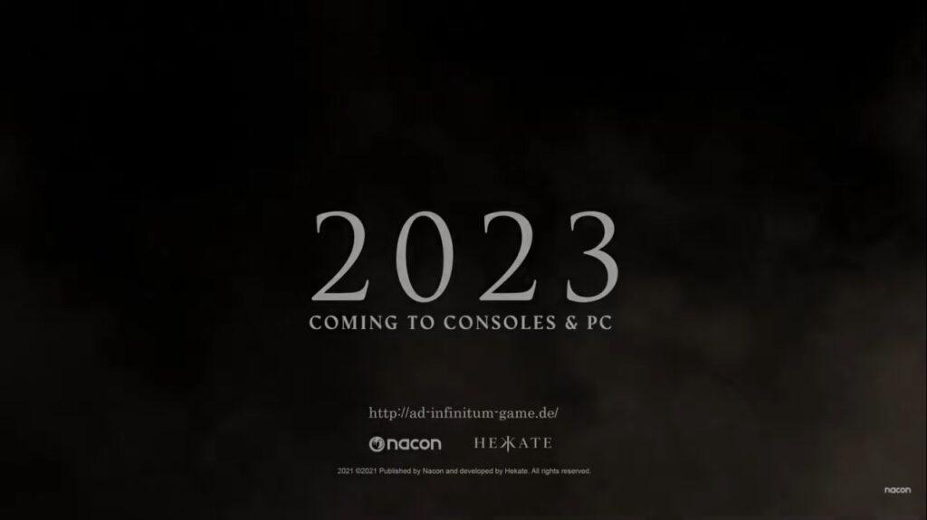 Ad Infinitum: novo game de terror para 2023