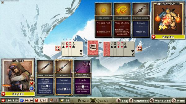 Poker Quest: roguelike de cartas já tem demo disponível