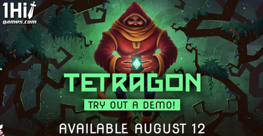 Tetragon: game brasileiro tem lançamento global em agosto