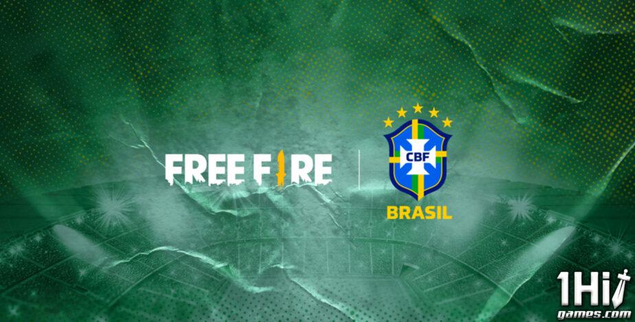 Free Fire fecha patrocínio com a Seleção Brasileira