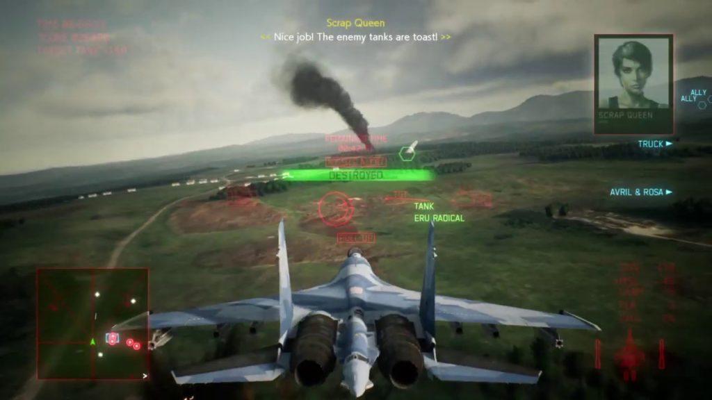 Novo Ace Combat está em produção