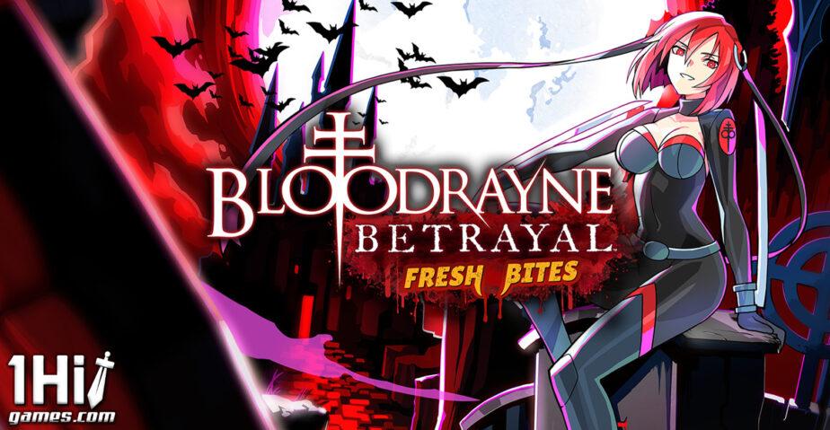 BloodRayne Betrayal: Fresh Bites chega em setembro