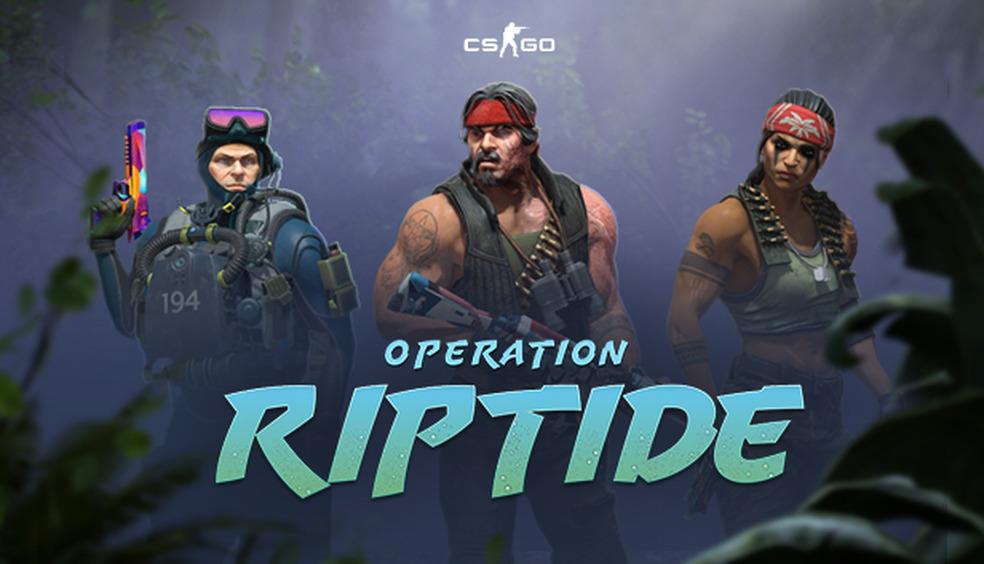 CS:GO Operation Riptide: atualização com muitas novidades